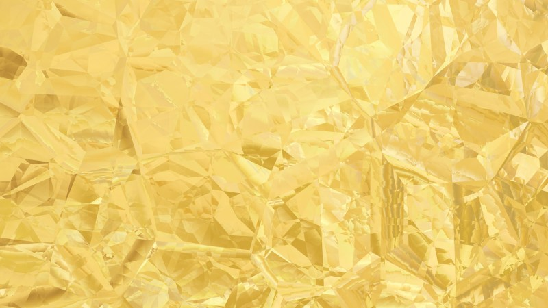 Gold Abstract Crystal Background