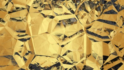 Abstract Gold Crystal Background