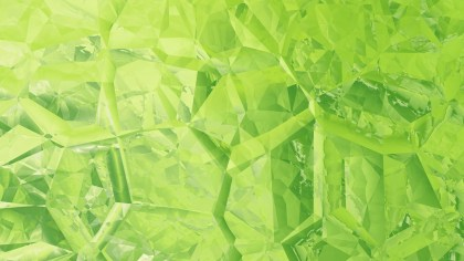 Abstract Green Crystal Background