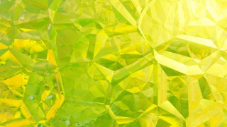 Green and Yellow Crystal Background Image