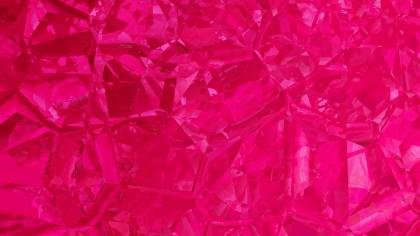Magenta Crystal Background Image