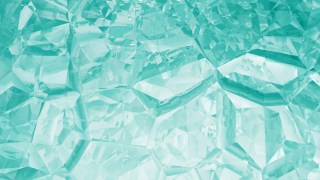 Abstract Mint Green Crystal Background Image