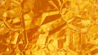 Abstract Orange Crystal Background Image