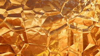 Abstract Orange Crystal Background