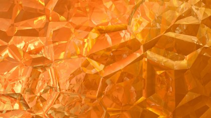 Orange Abstract Crystal Background Image