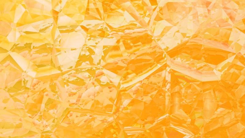 Orange Abstract Crystal Background Image