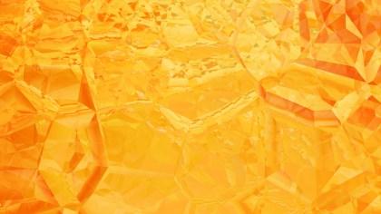 Abstract Orange Crystal Background Image