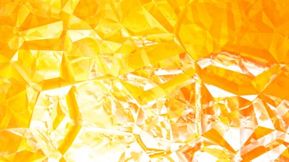 Orange and White Crystal Background Image