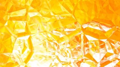 Orange and White Crystal Background Image