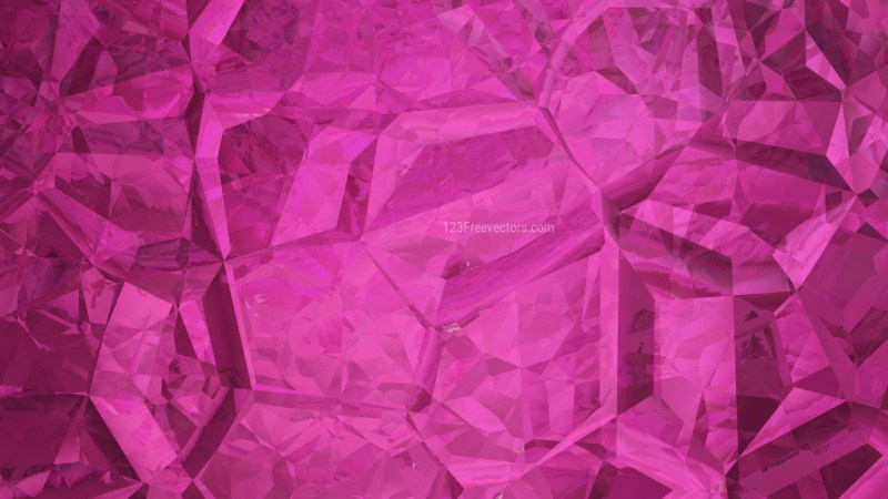 Abstract Pink Crystal Background