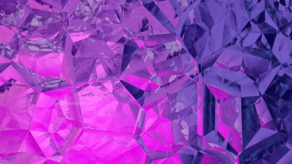Pink and Purple Crystal Background