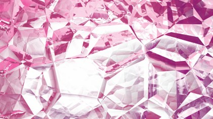 Pink and White Abstract Crystal Background