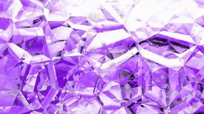 Purple and White Crystal Background