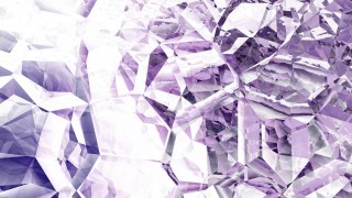 Purple and White Crystal Abstract background