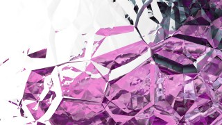Abstract Purple and White Crystal Background Image