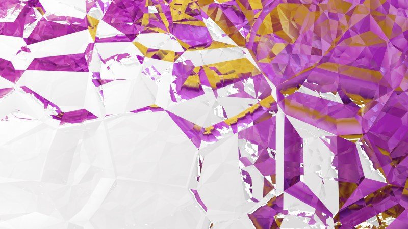 Abstract Purple and White Crystal Background
