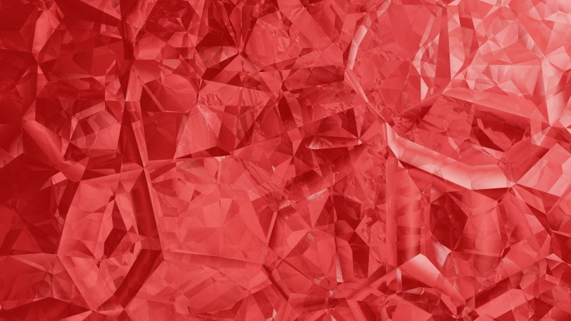 Red Abstract Crystal Background Image