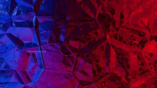 Red and Blue Crystal Abstract background