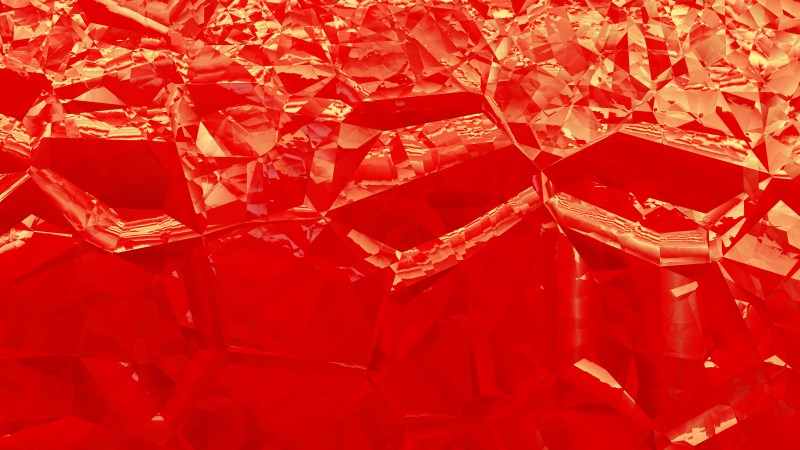 Red and Gold Crystal Abstract background