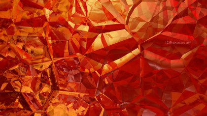 Red and Orange Abstract Crystal Background