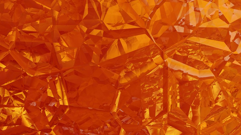 Red and Orange Crystal Abstract background