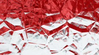 Red and White Crystal Background Image