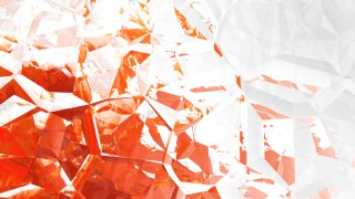 Red and White Crystal Background