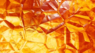 Abstract Red and Yellow Crystal Background Image