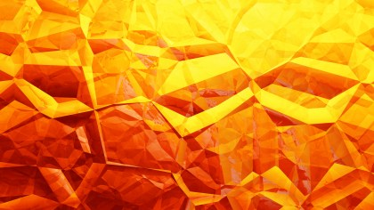 Abstract Red and Yellow Crystal Background