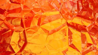 Red and Yellow Abstract Crystal Background