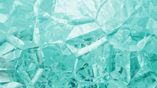 Turquoise Crystal Abstract background