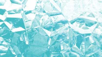 Turquoise and White Crystal Background Image
