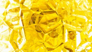 Abstract Yellow and White Crystal Background