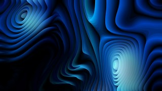 Black and Blue 3d Curved Lines Background