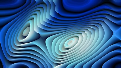 Black and Blue 3d Abstract Curved Lines Background