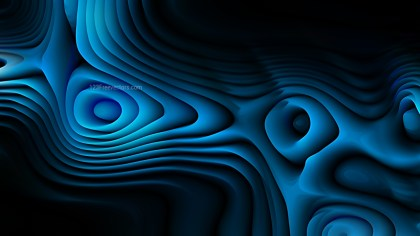 Abstract Black and Blue Curved Lines Ripple Texture Background