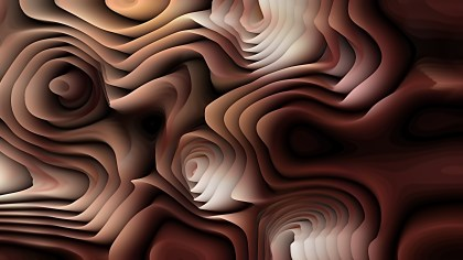 Black and Brown 3d Curved Lines Background