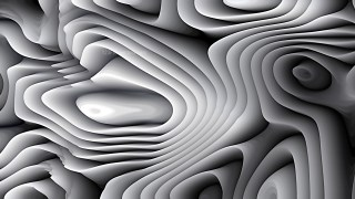 Black and Grey Curvature Ripple Texture