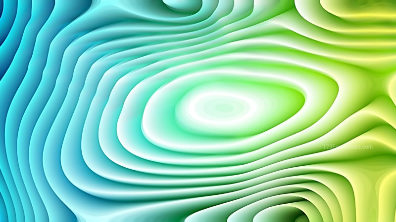 Blue and Green Curved Background Texture