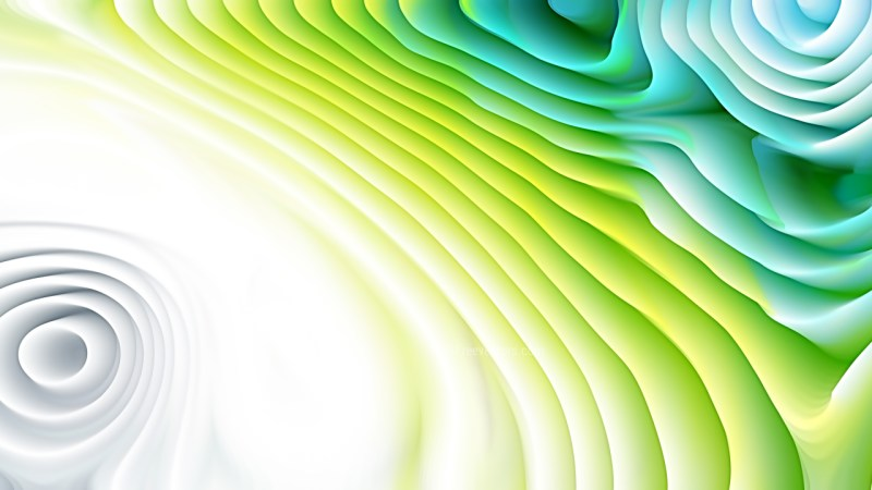 Blue and Green Curvature Ripple Texture
