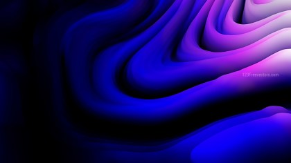 Blue and Purple 3d Curved Lines Texture Background