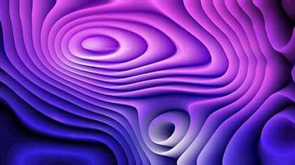 Abstract Blue and Purple Curved Lines Ripple Background