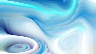 Blue and White Curvature Ripple Background