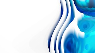 Blue and White 3d Curved Lines Texture
