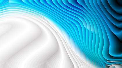 Abstract Blue and White Curve Texture