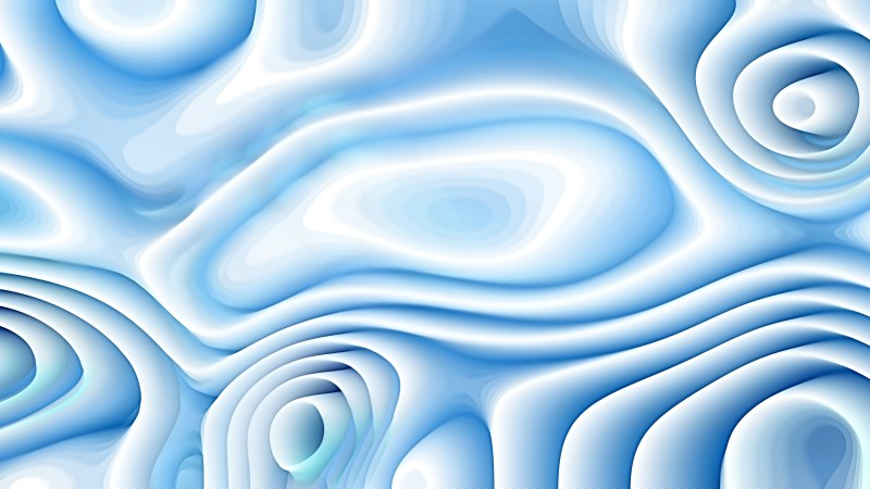 Abstract Blue and White Curvature Ripple Background