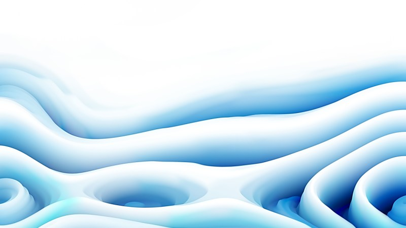Abstract Blue and White Curved Lines Ripple Texture