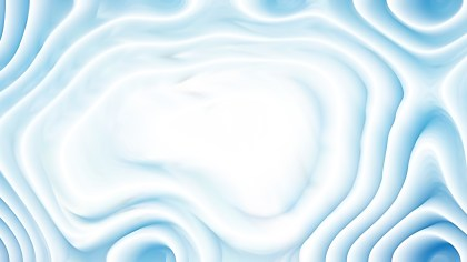 Abstract Blue and White Curved Lines Ripple Background