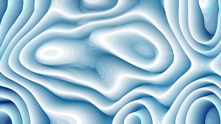 Abstract 3d Blue and White Curved Lines Texture Background
