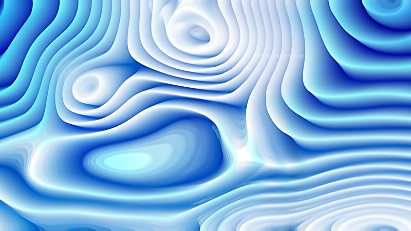 Blue and White Curve Texture Image